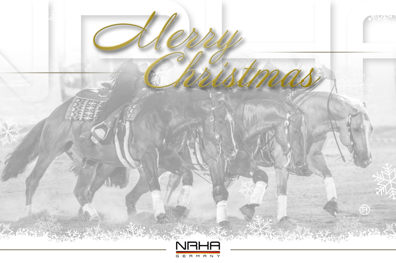 The NRHA Germany wishes Merry Christmas!