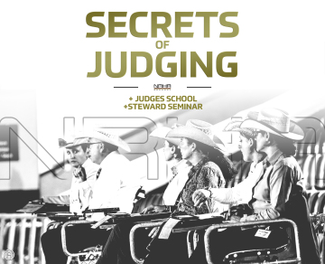 """The Secrets of Judging"" - an NRHA Germany workshop for everyone"