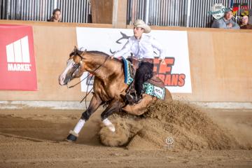 2BE Ranch neuer Klassensponsor auf dem NRHA Germany Breeders Derby