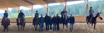 Basis- und Reiningkurs bei Bilger Quarter Horses